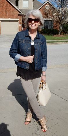 jeans jacket fifty not frumpy                                                                                                                                                     More
