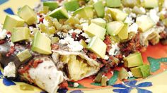 Avocado and Chorizo Enchiladas and other great recipes from @AvosfromMexico  #CelebrateCinco #CincodeMayo