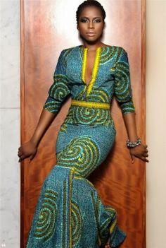 african dresses model 2014