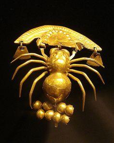 Sala de Oro. Museo Brüning. Lambayeque, Perú. Gold Room. Brüning Museum. Lambayeque, Peru.