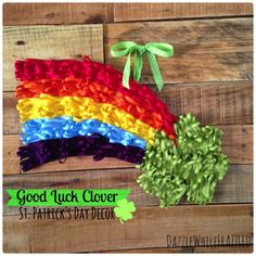 Good Luck Clover - and 16 other fun St. Patrick's Day projects!