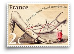 Do you know that the first blood transfusion to a human was performed in 1667 by the French physician Jean-Baptise Denys? He took blood from a sheep and gave it to a boy, saving his life. #WordPress #France #History #Medicine