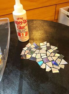 Forgotten CDs Become A Beautiful Mosaic Table – LittleThings