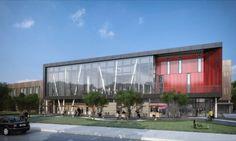 Hotel en Oberlin: edificio con energía geotérmica. SCB Architects diseñó un edificio con energía geotérmica para el Oberlin College, una universidad de Ohio conocida por su reputación medioambiental. El edificio se ha proyectado con muchas estrategias sostenibles, con el objetivo de alcanzar energías neta cero, pues incluye instalación solar, y el uso de la energía geotérmica para su instalación de suelo radiante (calefacción y refrigeración).  #Arquitectura,