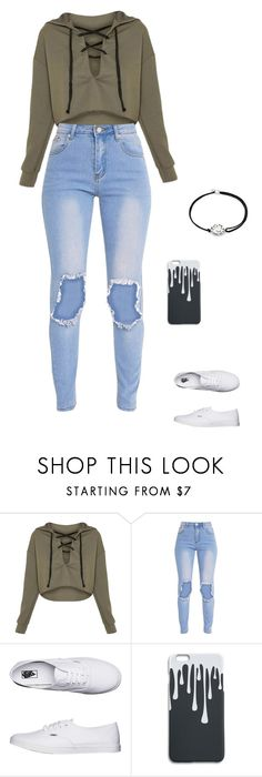 """Untitled #1400"" by fangirl23 ❤ liked on Polyvore featuring Vans and Alex and Ani"