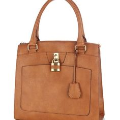 Warehouse Pocket Front Padlock Shopper  $71http://www.zoanne.com/bags/Warehouse-Pocket-Front-Padlock-Shopper