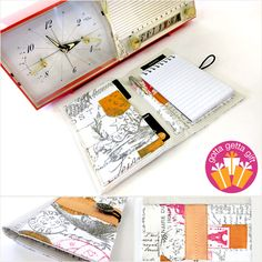Notepad Folder To Go | Sew4Home