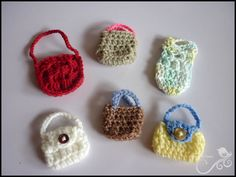 Mamma That Makes: Bunches of Barbie Bags - Crochet Patterns