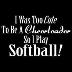 TOO CUTE Softball
