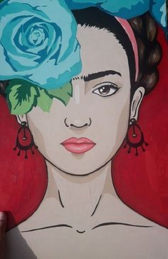 Frida Kahlo Artwork, Kahlo Paintings, Frida Kahlo Portraits, Frida Art, Fridah Kahlo, Afrique Art, Arte Floral, Mexican Art, Whimsical Art