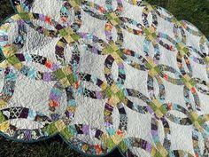 double wedding ring quilt | Double Wedding Ring Quilt | Quilts