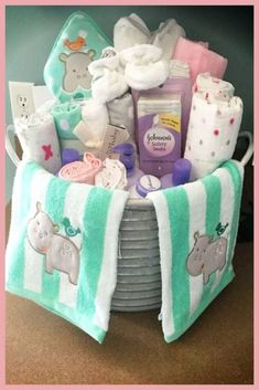 DIY gift ideas - simple and cheap baby shower gifts for . - Baby Diy - DIY gift ideas – simple and cheap baby shower gifts for … - Baby Shower Gifts To Make, Baby Shower Presents, Diy Baby Gifts, Unique Baby Shower Gifts, Baby Crafts, Easy Baby Gifts To Make, Creative Baby Gifts, Unique Baby Boy Gifts, Fiesta Baby Shower