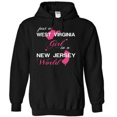 Best gift - (WVJustHong001) Just A West Virginia Girl In A New_Jersey World T-shirt/mug BLACK/NAVY/PINK/WHITE M/L/XL/XXL/3XL/4XL/5XL