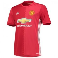 Manchester United Soccer Jersey Adidas (First shirt) Manchester United Home Kit, Manchester United Merchandise, Manchester United Football, Soccer Kits, Football Kits, New Football Shirts, Neymar Football, Soccer Jerseys, Soccer