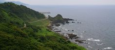 The Noto Peninsula (Noto Hanto) makes up the northern half of Ishikawa Prefecture, extending about 100 kilometers into the Sea of Japan. The peninsula is known for its coastal scenery, particularly along the Okunoto Coast and the Kongo Coast, as well as for its rural atmosphere.