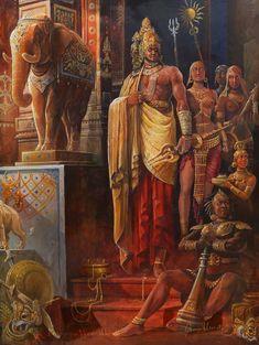 King Ravana of Lanka by bhuthacharya on DeviantArt