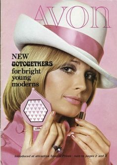 We adore this pastel pink 1960s brochure cover...www.youravon.com/jbriggs