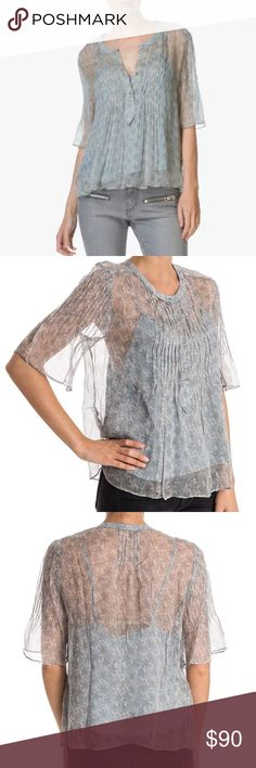 Zadig and Voltaire Thai print silk blouse See pic for description Zadig & Voltaire Tops Blouses