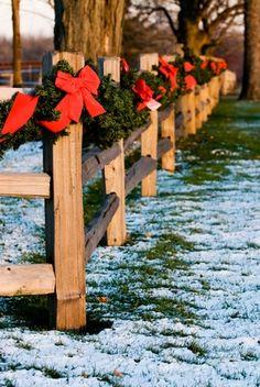 split rail fence deco :)