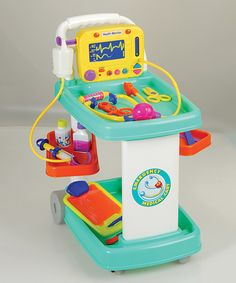 Look what I found on #zulily! Medical Cart by Constructive Playthings #zulilyfinds
