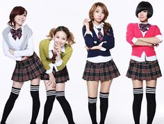 Brown Eyed Girls on OnePlaylist Brown Eyed Girls, Brown Eyes, Pop Group, Preppy, Skater Skirt, Underwear, Punk, Skirts, Gain