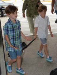 Los hijos de Ricky Martin están enormes