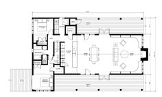 Perfect Vacation Retirement House Simple Floor Plan
