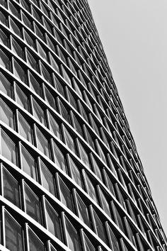 """Black reflection"" by Fernando Cabeza, via Skyscraper, Reflection, Multi Story Building, Explore, Pictures, Black, Photos, Skyscrapers, Black People"
