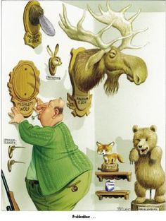 Interview mit dem Karikaturisten Bruno Haberzettl Freiheit für Tiere - Die Zeitschrift, die Tieren eine Stimme gibt
