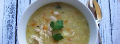 """This is a thick hearty, protein packed soup that is more like a """"stoup"""" really. Chicken, bean & pasta made in one pot or the Thermomix. Belly warming!"""