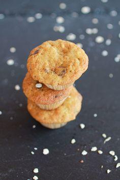 Chocolate Chip Cookie Banana Muffins