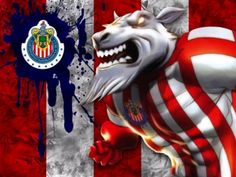 Chivas Wallpaper, Chivas Soccer, Football Wallpaper, Football Players, 4th Of July Wreath, Mickey Mouse, Lion Sculpture, Statue, Animals