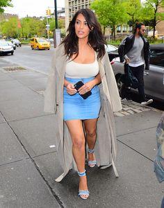 36aea64c62e2 Kim Kardashian  Με μια φούστα που θα φορούσαμε όλες!