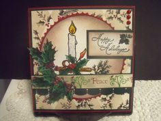 """ A winter's warm glow "" by wendy2512 - Cards and Paper Crafts at Splitcoaststampers"