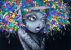 Vinie es un artista de graffiti de París, Francia. Sus obras cuentan siempre con mujeres voluptuosas, las mujeres de estética afro, labios carnosos, y las caderas anchas.