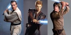 Obi-Wan Kenobi|Anakin Skywalker|Luke Skywalker ❤️