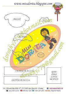 Miss Dorita: Lapiz Ovejita en Filigrana
