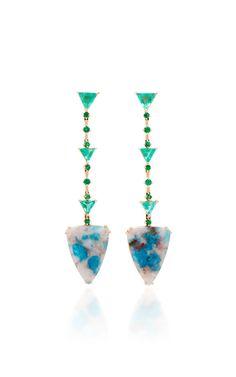 Drop Earrings by Joana Salazar | Moda Operandi