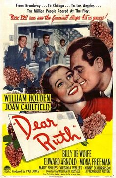 Dear Ruth is a lively, funny 1940s film about a young girl writing letters to a soldier while pretending to be her older sister.