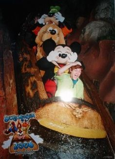 when characters could go on rides - awe! They never do anymore. :P