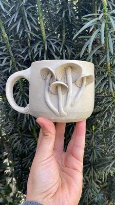 Wild Yam Co. Ceramic mushroom Mug