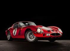 1962 FERRARI GTO IS WORLD'S MOST EXPENSIVE CAR