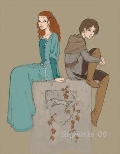 The Stark Sisters by Algesiras.deviantart.com