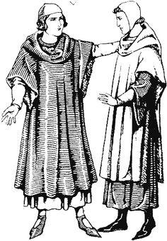 Historie odívání - 13.století, část 3.