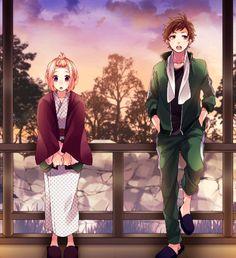 Hina Setoguchi and Kotaru Enomoto Koi, Manga Art, Manga Anime, Tokyo Winter, Zutto Mae Kara, Honey Works, Hyouka, Yandere Simulator, Couple Cartoon