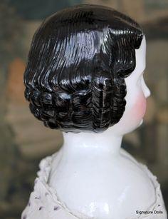 "Antique 24"" Kister German China Child Doll"