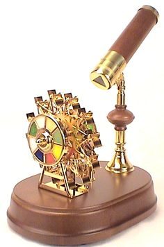 The Ferris Wheel Gifts, Musical Kaleidoscope is not only pleasing to the eye, it is also pleasing to the ear