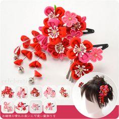 Shichigosan hair accessories