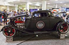 https://flic.kr/p/FkS6sd | Motorama Show Toronto 2016 | 1934 Ford Coupe - Tony Peressini- Dream Machines Rookie of the year.