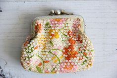 vintage retro change purse by wretchedshekels on Etsy, $12.00